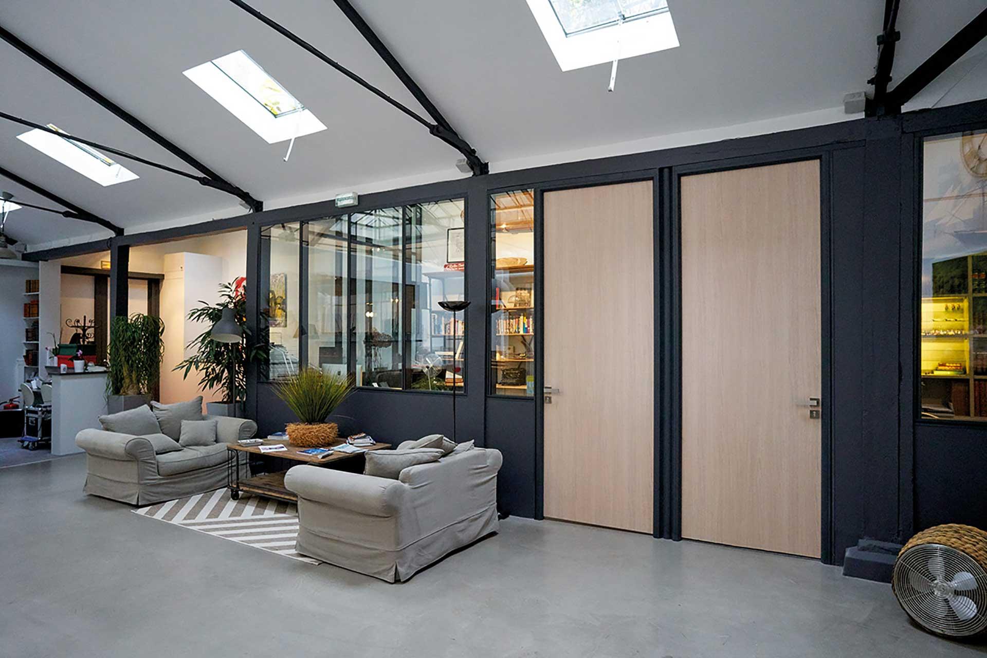 Cloisons amovibles blocs portes simple tout hauteur pleine