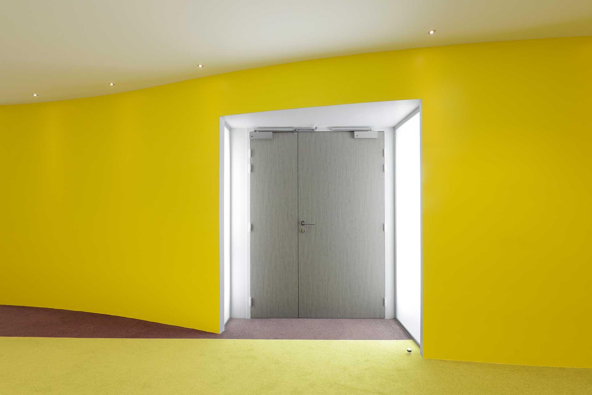 interpose - Cloisons sèches bloc porte stratifié double vantaux