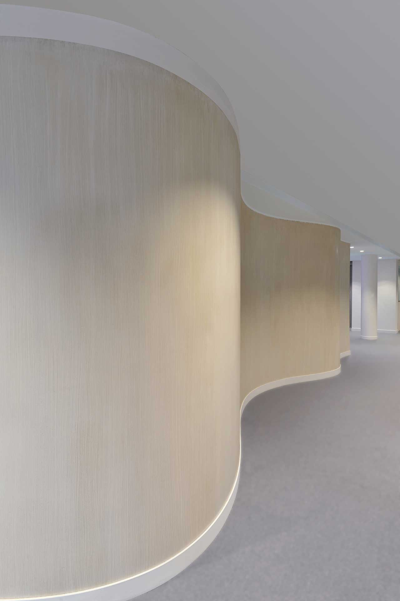 Cloisons courbes plaque de plâtre