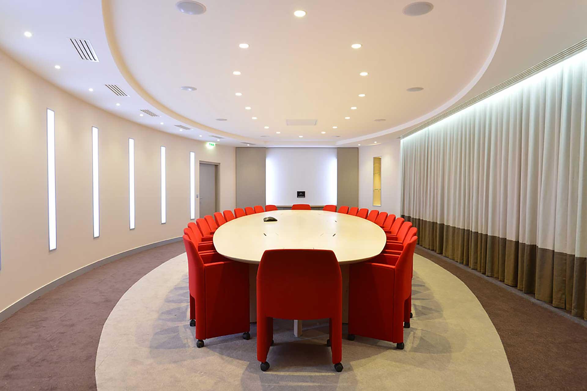 Transdev Agencement des salles de réunion